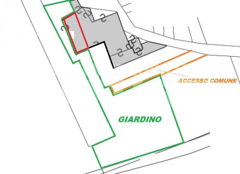 Porzione di casa con giardino immobiliare battisti for Piani di garage con deposito soffitta